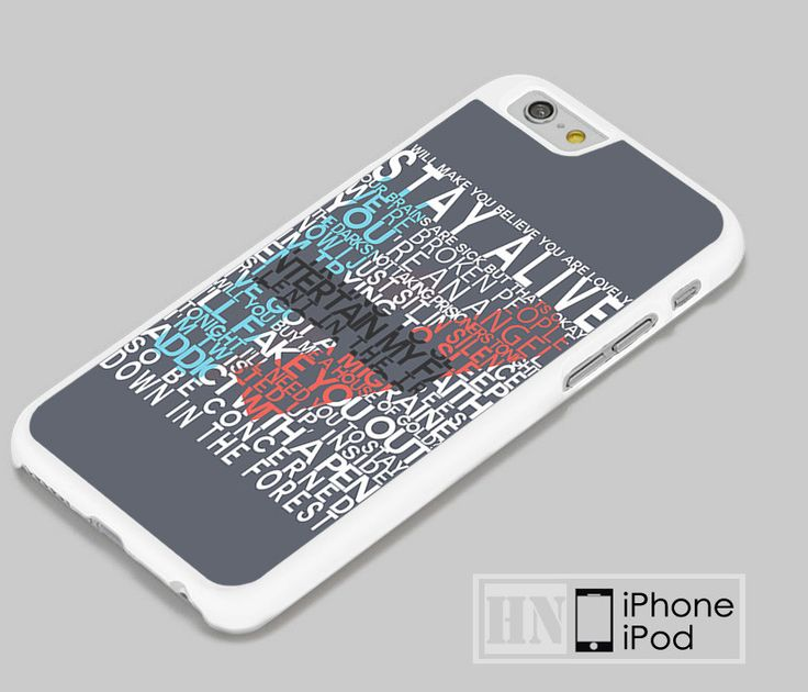 Twentty One Pilots Stay Alive Lyrics iPhone iPod Cases, Samsung Cases, HTC one Cases, LG Cases