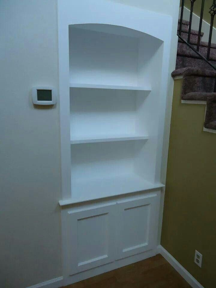 Built in cabinet for a customer.