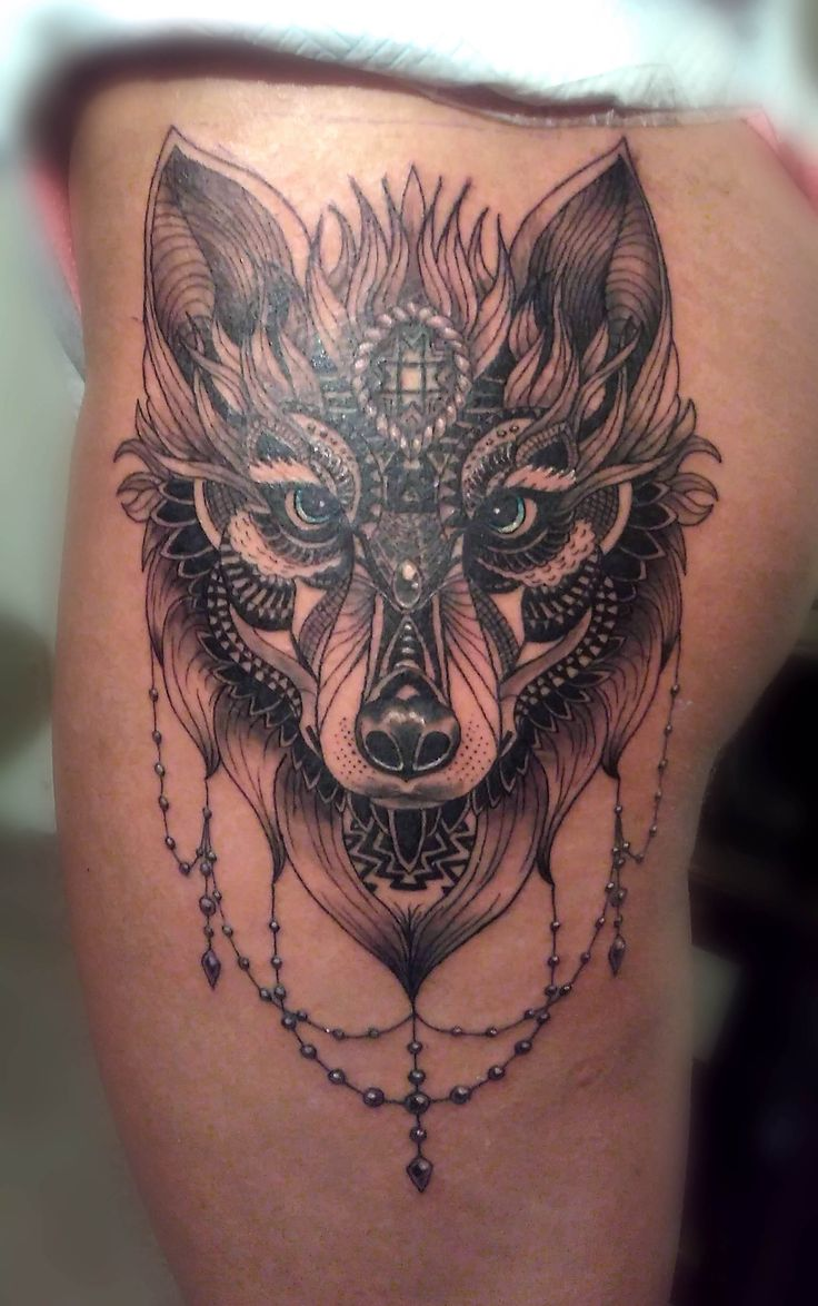 Wolf -- Front thigh