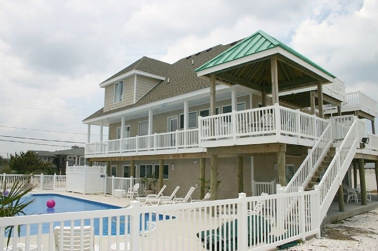 Virginia Beach House Rental: ***a Beach Oceanfront Mansion W/ Pool! Sandbridge Beach, Va. Beach, Va | HomeAway