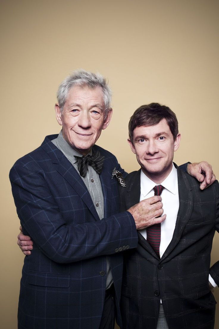 Sir Ian McKellen interviewed by Martin Freeman about all things Middle Earth. Click through, it's wonderful