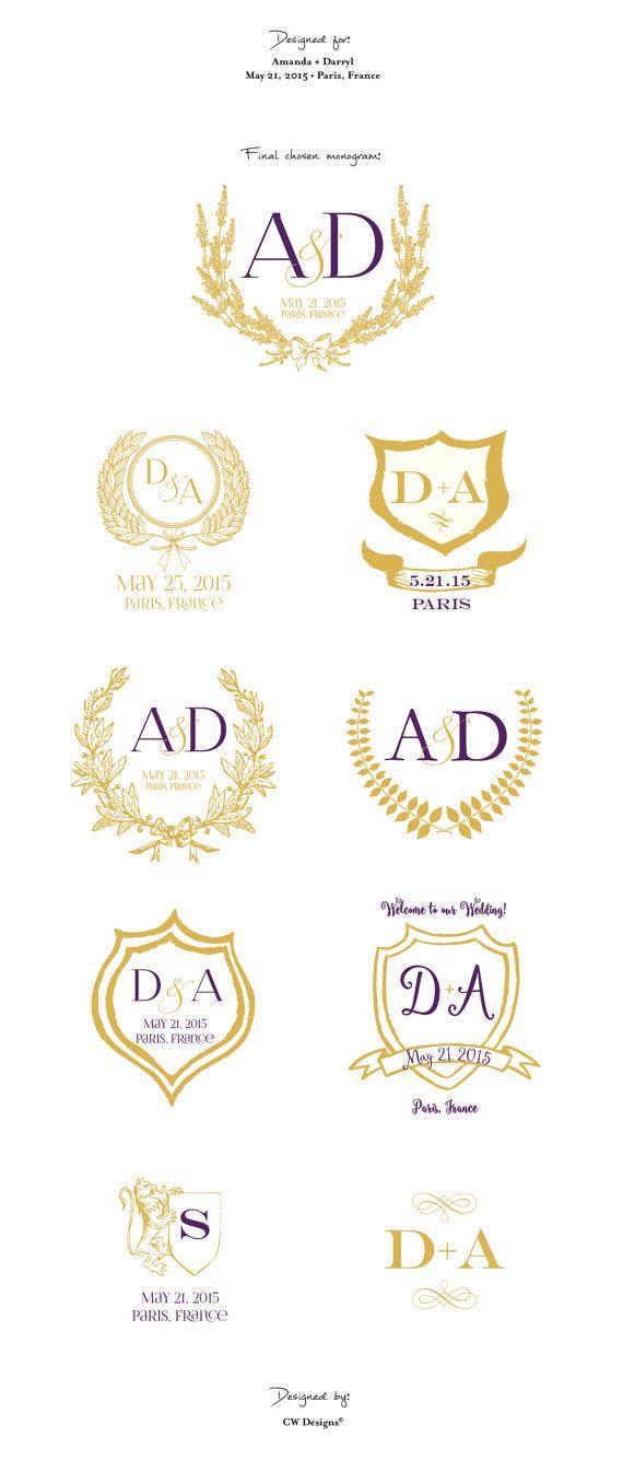 Best 25+ Wedding logos ideas only on Pinterest | Wedding stickers ...