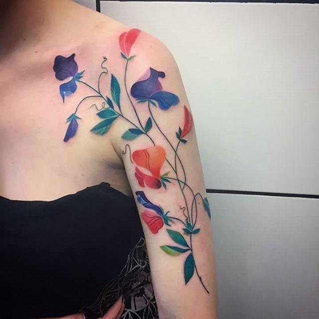 best 25 sweet pea tattoo ideas on pinterest sweetpea