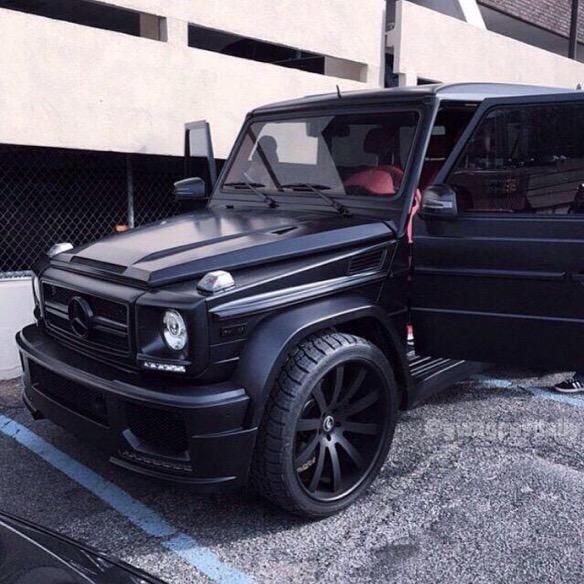 82 best matte black g wagon images on pinterest gwagon for Black mercedes benz g wagon