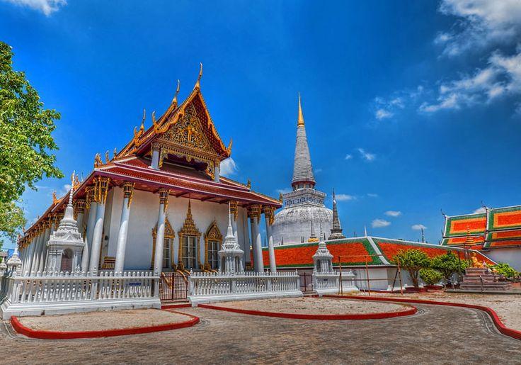 Wat Phra Mahathat Woramahawihan : Nakhon Si Thammarat, Thailand