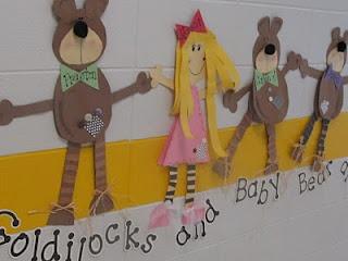 Glyph Girls: Goldilocks and the Three Bears!!!