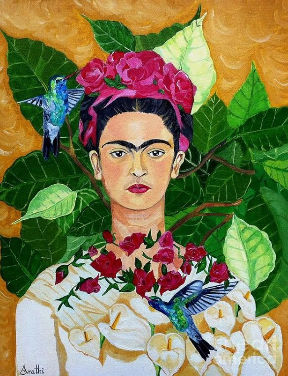 """I paint self-portraits because I am so often alone, because I am the person I know best."" - Frida Kahlo"