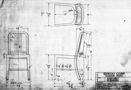 History of the Emeco Navy Chair
