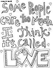 All Quotes Coloring Pages From Doodle Art Alley