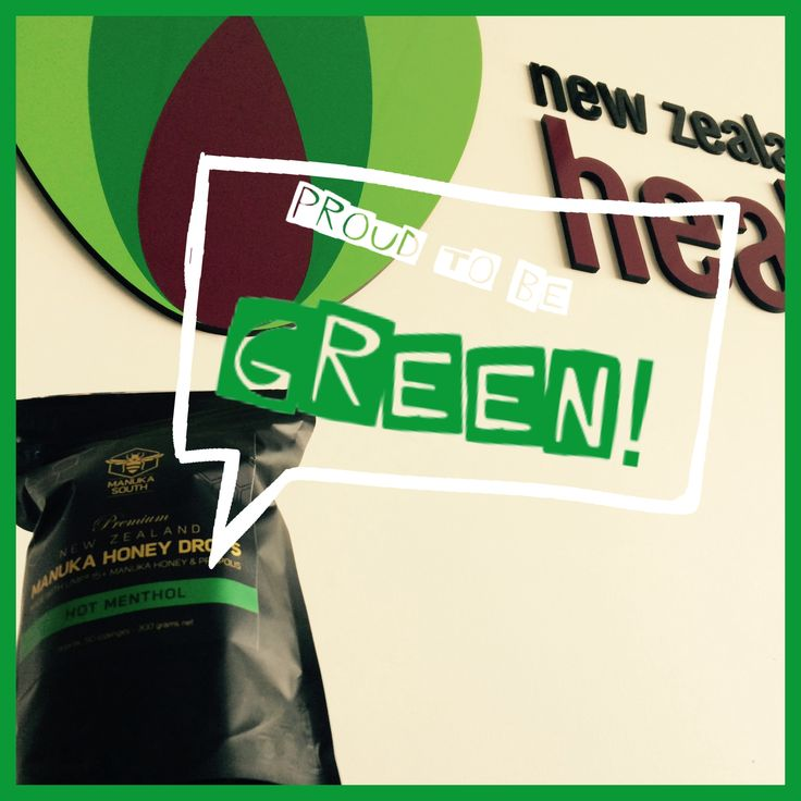 HAPPY ST PATRICK'S DAY! Here at NZHealthFoodCo, we pride ourselves on using Eco-friendly packaging options & resources for all our brands - including Manuka South #kiwi #celebratetheirish #green #eco #environmentaware