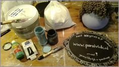 Home: Parelvink blog: Zelf krijtverf maken