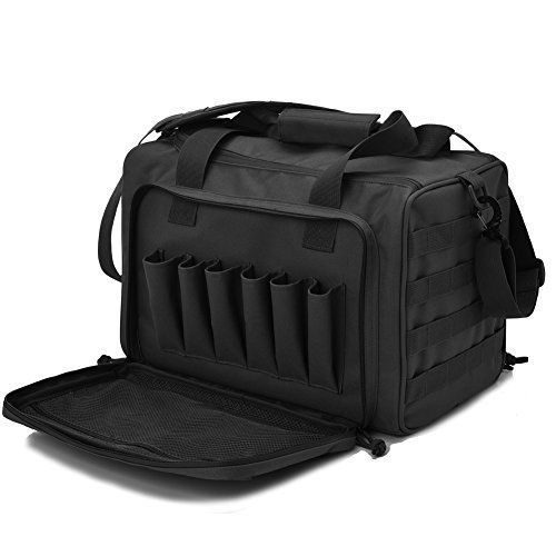Tactical Range Bag Deluxer Hunting Shooting Range Bag #Shootingrangebag