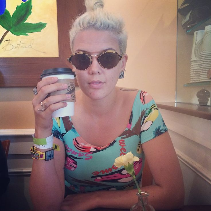 Coffee and conversation with Betty Who