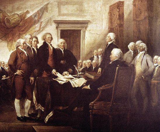 Die USA ist wunderbar: Die Unabhängigkeitserklärung