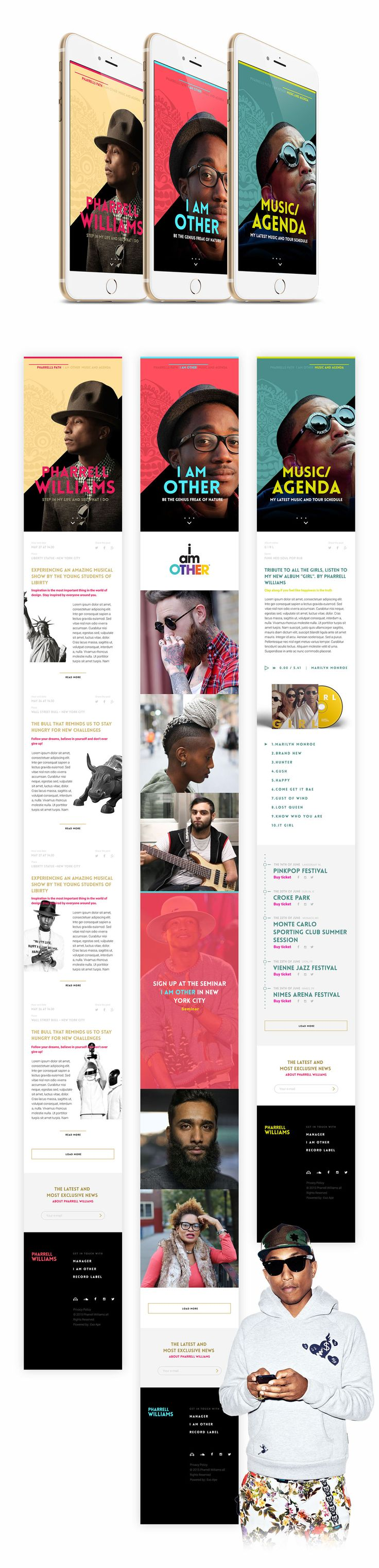 Discover the world of Pharrell Williams by Ronald Gijezen