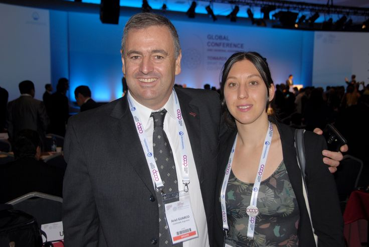 With Gabriela Buffa, Youth Global Network leader.