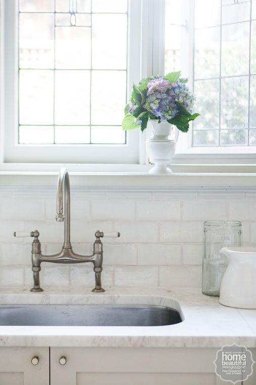 House style kitchen taps