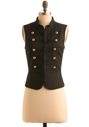 This military inspired vest is fantastic!