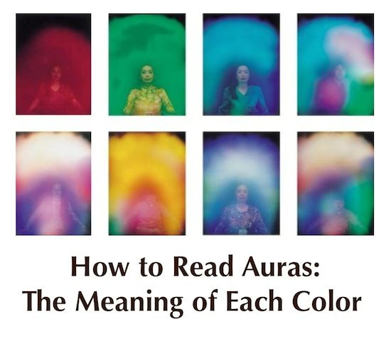 How to Read Auras: Aura Colors Meaning | Significados da ...