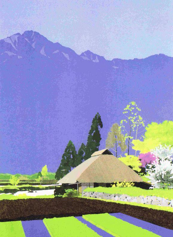 内田 正泰 作品 : 「勇気」との散歩道で 出会い                                                                                                                                                                                 もっと見る
