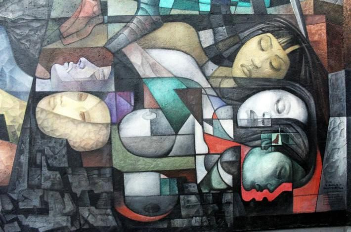 609 best images about mexican art on pinterest latinas for Arte mural mexicano