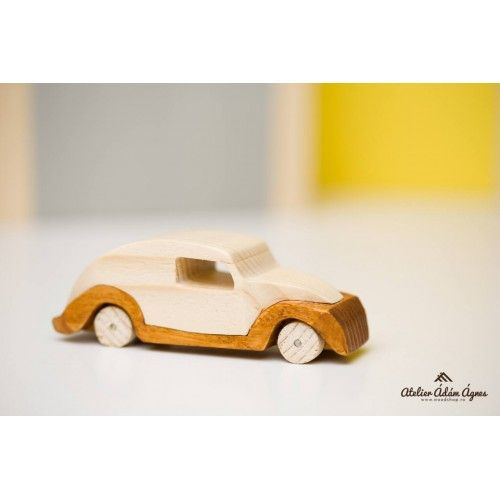 Wooden retro car #playwithwoodencar