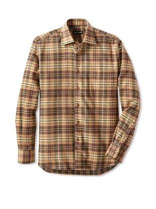 Kenneth Gordon Men's Flannel Shirt