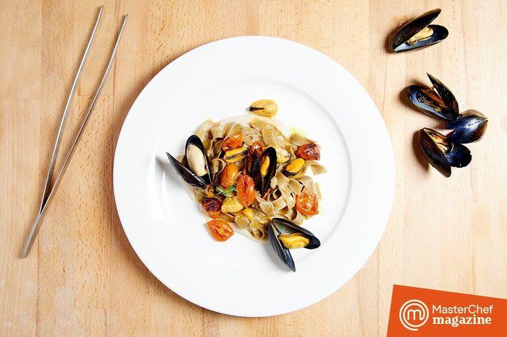 Grano arso, cozze, pomodorini arrosto e cannellini... Ed è Puglia! ❤️