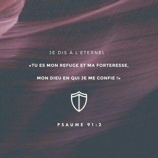 *Salmos 91: 2