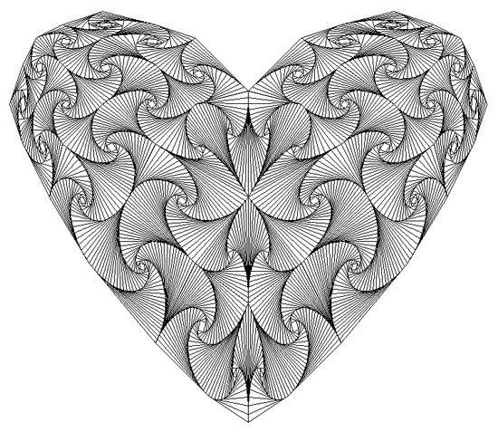 Zentangle Art | Zentangle Art / hearts