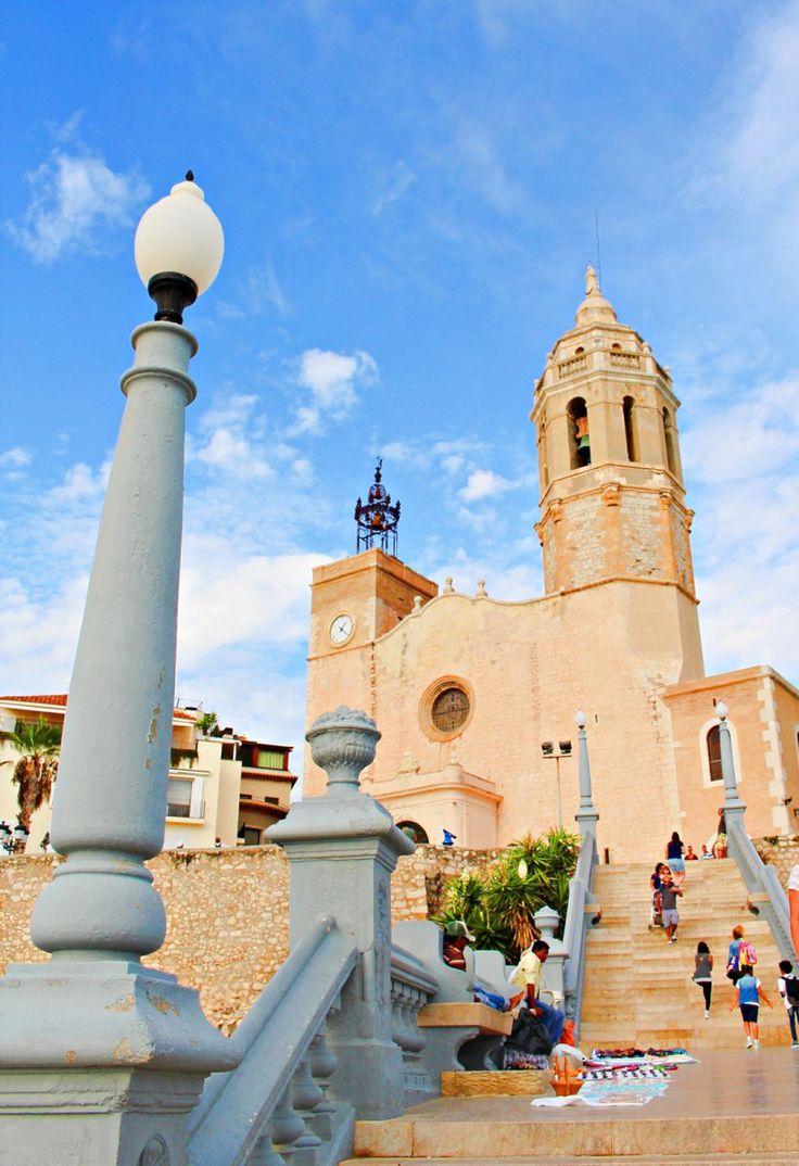 Sitges - Mediterranean coastal town of Spain