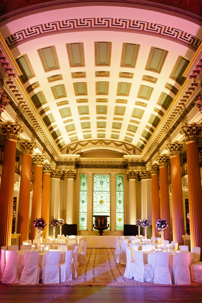 Upper Library Set For Evening Wedding Reception At The Signet Old Town Edinburgh ReceptionsWedding CeremoniesUnusual