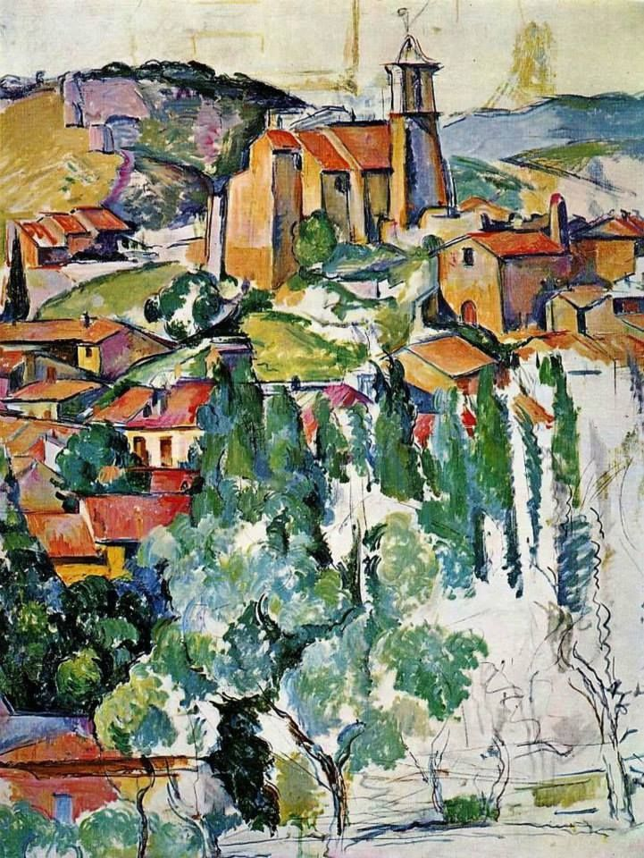 PAUL CÉZANNE (1839–1906): THE VILLAGE OF GARDANNE (c.1885-86)