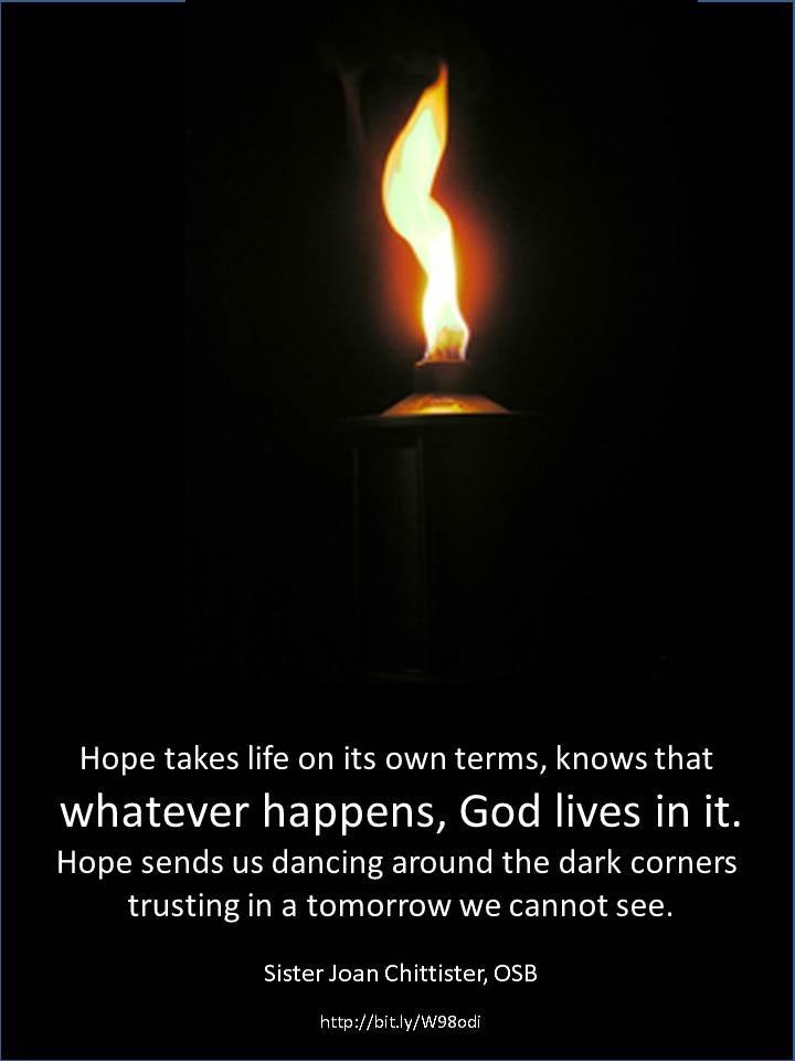 Joan Chittister OSB - hope