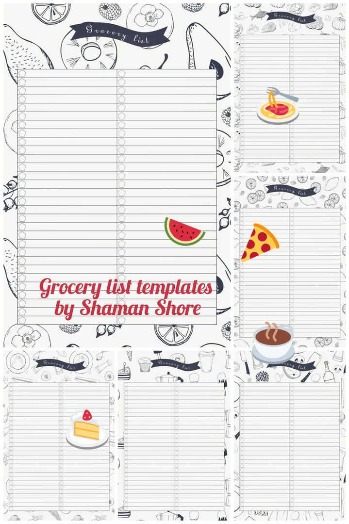 Grocery coupon planner