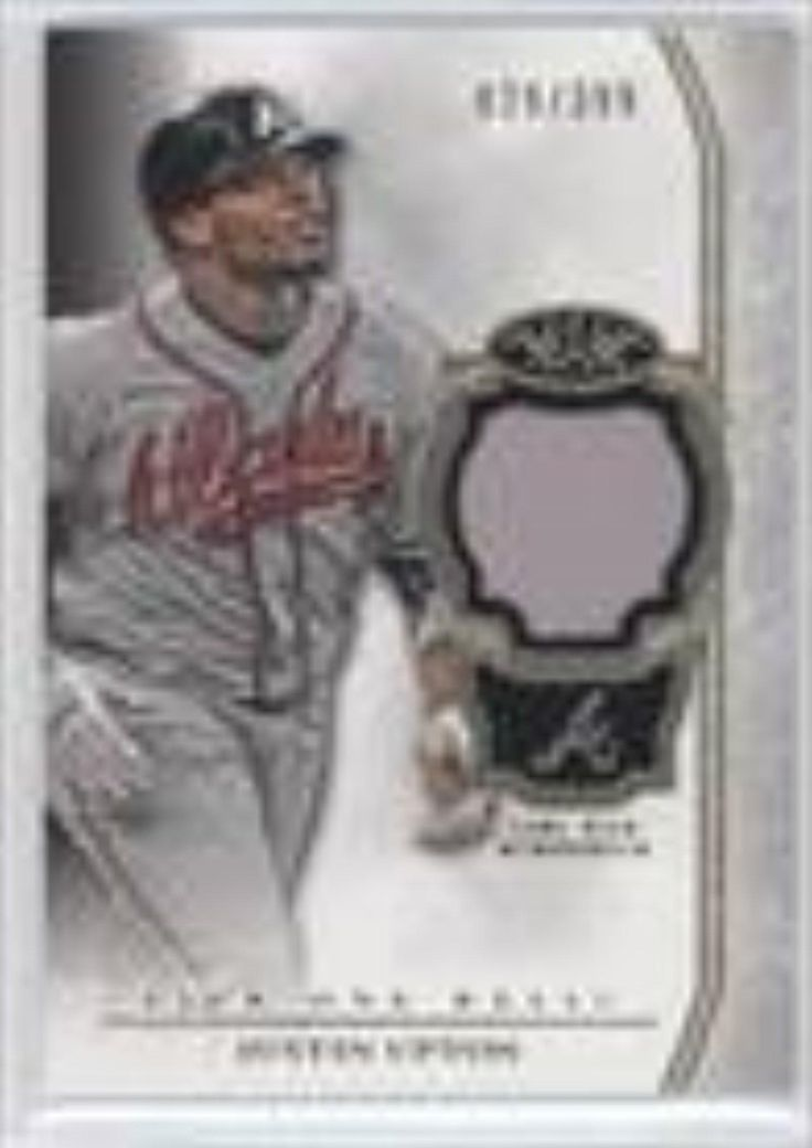 Justin Upton #29/399 (Baseball Card) 2013 Topps Tier One Relics #TOR-JU - Brought to you by Avarsha.com
