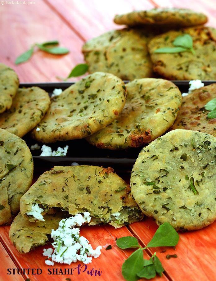 Stuffed Shahi Puri,