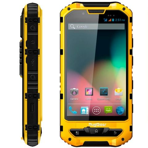 "RugGear RG960 Rugged Android Phone 4.3"" Screen IP68 Large 4.3"" Screen, Android 4.1.2, dual sim, Long 3000 mAH battery, Waterproof to IP68, Military Spec,Toughened glass. Available for purchase at www.go-rugged.com"