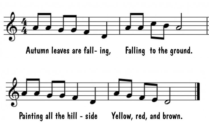 I'm linking up with some other wonderful music teacher bloggers today to share one of my favorite fall-themed music lesson. Make sure yo...