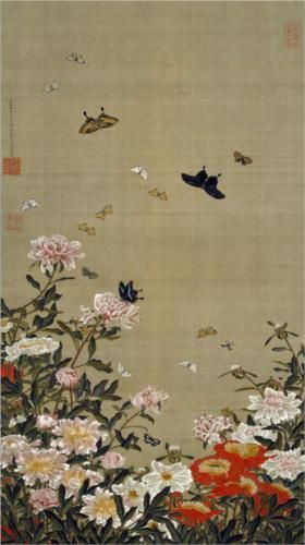 Peonies and Butterflies - Itō Jakuchū (1716-1800)