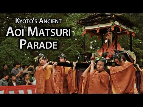 Kyoto Festival: Aoi Matsuri - blogs de Japan Travel  ||  Considered one of the three most important festivals in Kyoto, the Aoi Matsuri takes place on the 15th of May each year.  Held by the important Kamo shrines, Kamigamo Shrine and Shimogamo Shrine, the origins of the festival can be traced all the way back rites performed to appease the gods and pray for bountiful harvests in the 6th century.  It was established as a more formal…