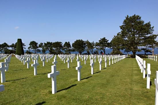 American cemetary in Normandy.