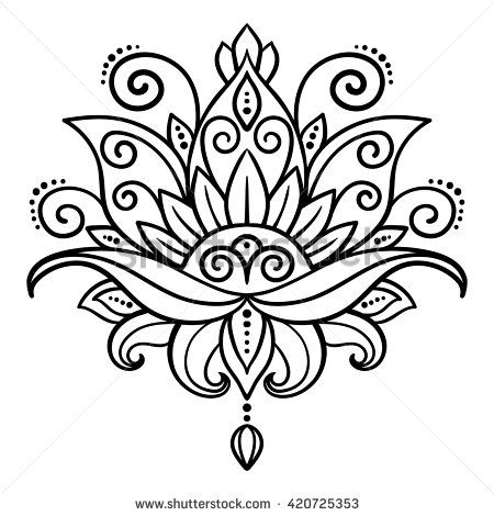 Henna Design Stock Photos, Images, & Pictures | Shutterstock