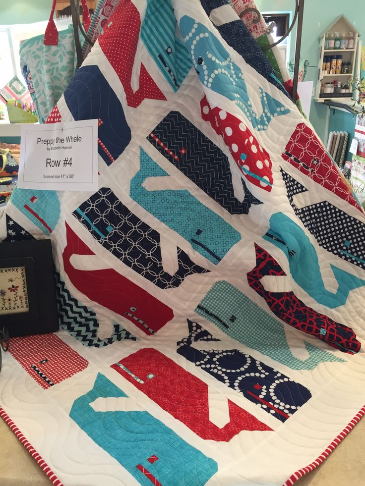 Preppy the Whale Quilt