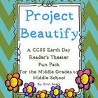 16-page Earth Day Reader's Theater Fun Pack includes: 6-page, 12-character script Context clue word work Reader Response Questions Journal Prompt f...