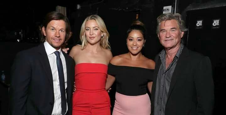 Mark Wahlberg, Kate Hudson, Gina Rodriguez and Kurt Russell (Deepwater Horizon Premiere New Orleans)