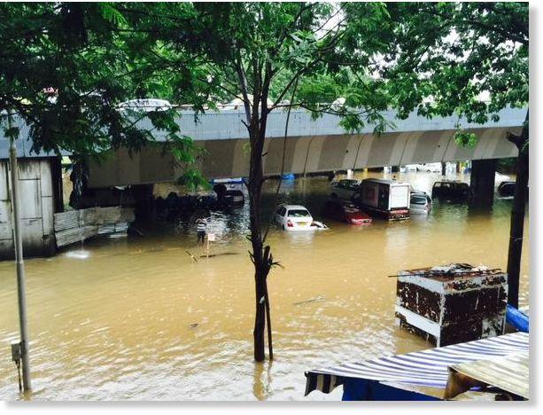Mumbai Floods, 19 June 2015.