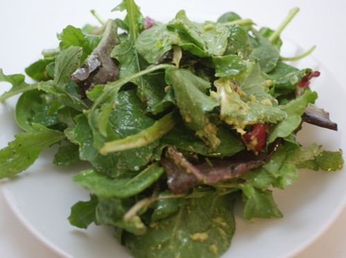 Simple Avocado Vinaigrette Bursting with Creamy Goodness : Avocado Salad Dressing