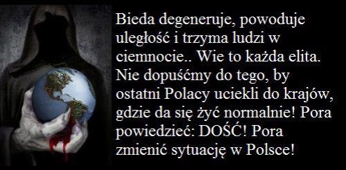 Polaków niszczy się niskimi zarobkami i wysokimi cenami. To sabotaż a nie prawa ekonomii! « Społeczeństwo, duchowość, medycyna, zdrowie i ich TABU.. Kontrowersyjnie i bez ograniczających schematów