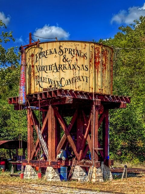 Water tower...Eureka Springs, Arkansas